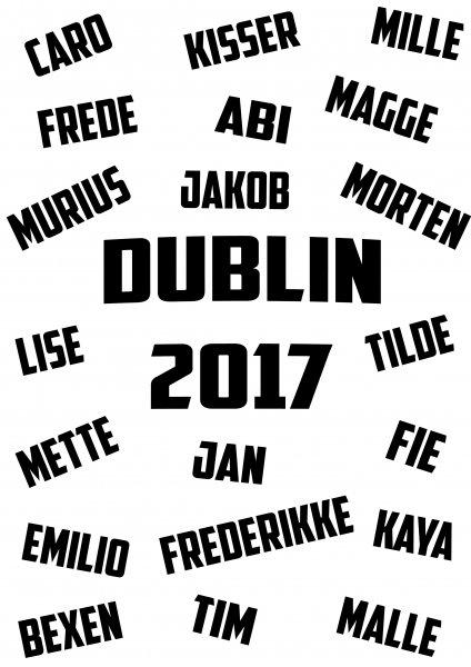 Billede til Dublin 2017 - rigtigt
