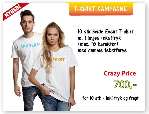 T-shirt kampagne